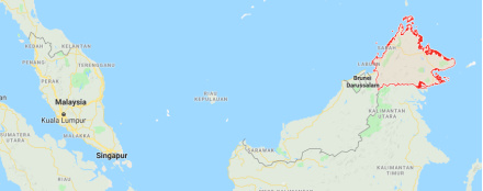 Sabah-Malaysia (rot umrahmt) - Ausschnitt aus google Maps<div class='url' style='display:none;'>/</div><div class='dom' style='display:none;'>evang-frauenfeld.ch/</div><div class='aid' style='display:none;'>625</div><div class='bid' style='display:none;'>8581</div><div class='usr' style='display:none;'>224</div>
